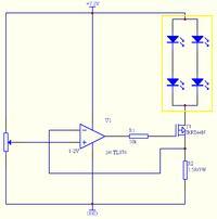Regulowane �r�d�o pr�dowe dla modu�u LED