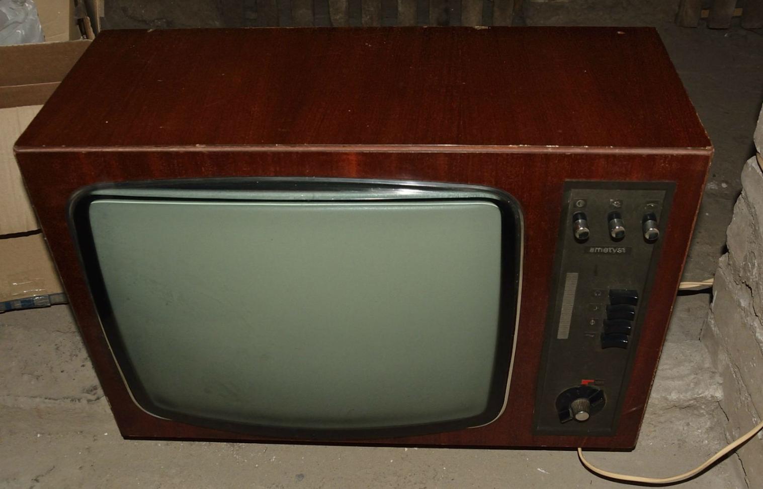[Sprzedam] 3 stare telewizory lampowe: Ametyst Fregata Neptun 1491