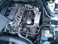 Mercedes W204 - Twardy hamulec po nocy