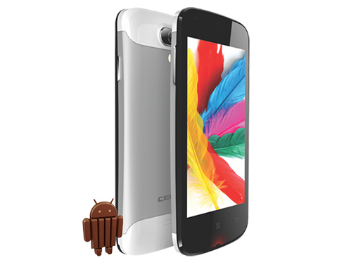 "Celkon Q44 - niedrogi smartphone z 4"" ekranem, Dual SIM i KitKat"