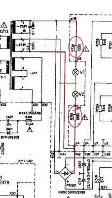 Wzmacniacz dioraws442 - Żarówki podświetlenia panelu
