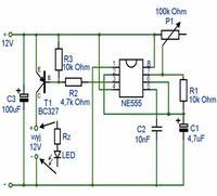 Stroboskop LED ---- NE555