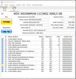 WD Passport Ultra 3TB - brak dostępu do danych