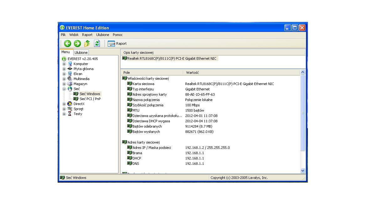 Acer emachines e520 brak wifi