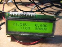 Zasilacz warsztatowy 0-32V 0.002-6A