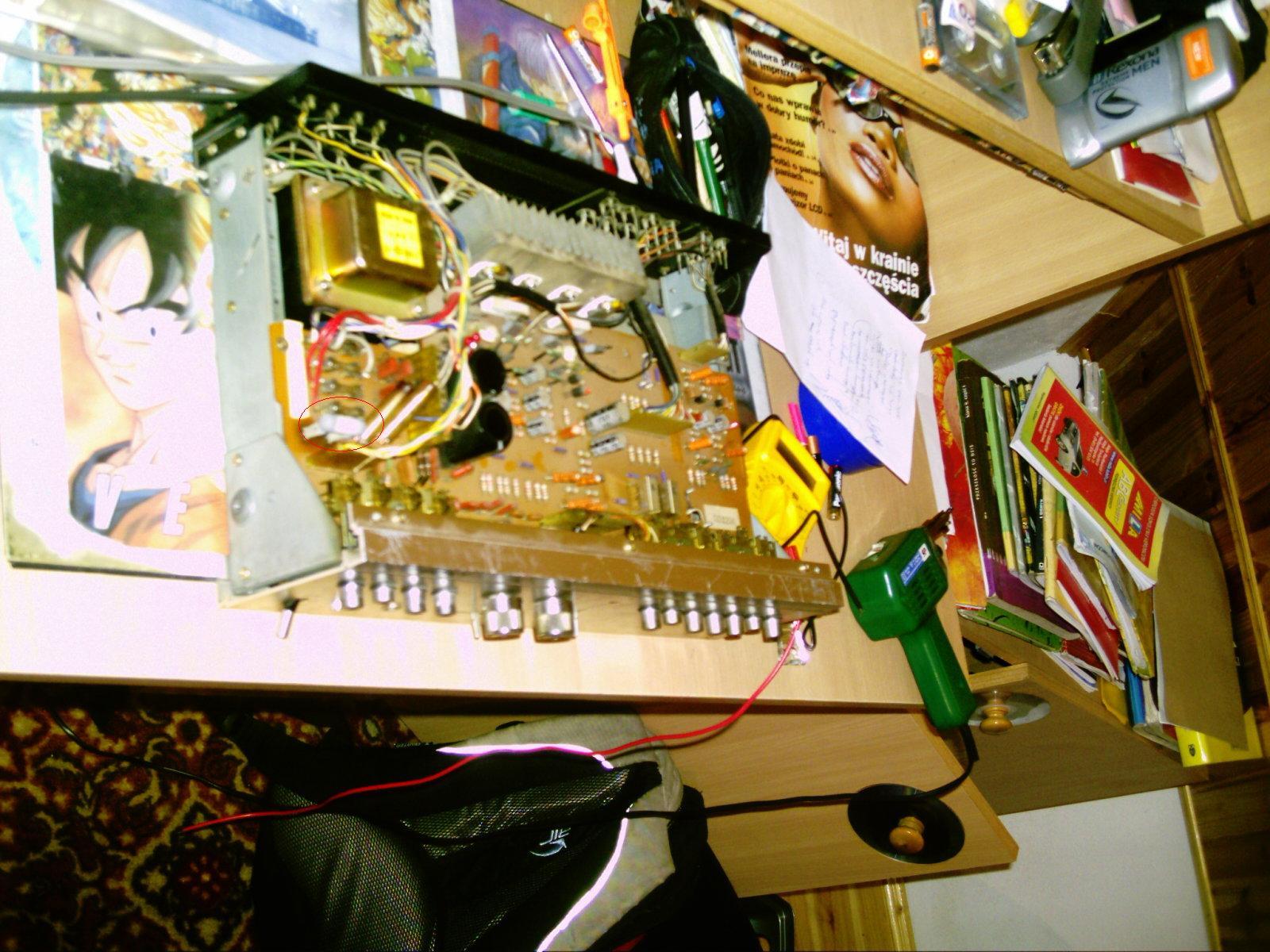nie działa wzmacniacz sony ta-1066 integrated amplifier