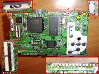 uszkodzony Samsung S850