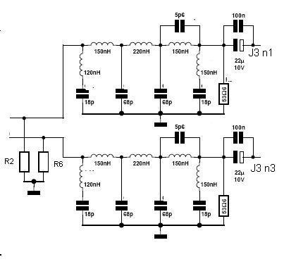 Filtr aktywny dolnoprzepustowy do generatora.
