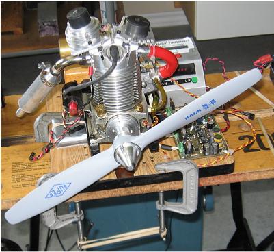 Evic - silnik spalinowy sterowany elektronicznie