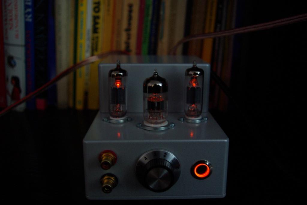Malutki wzmacniacz lampowy na 12AX7 i EL95
