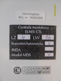 Sprzedam centralę telefoniczną ELNIX CTL
