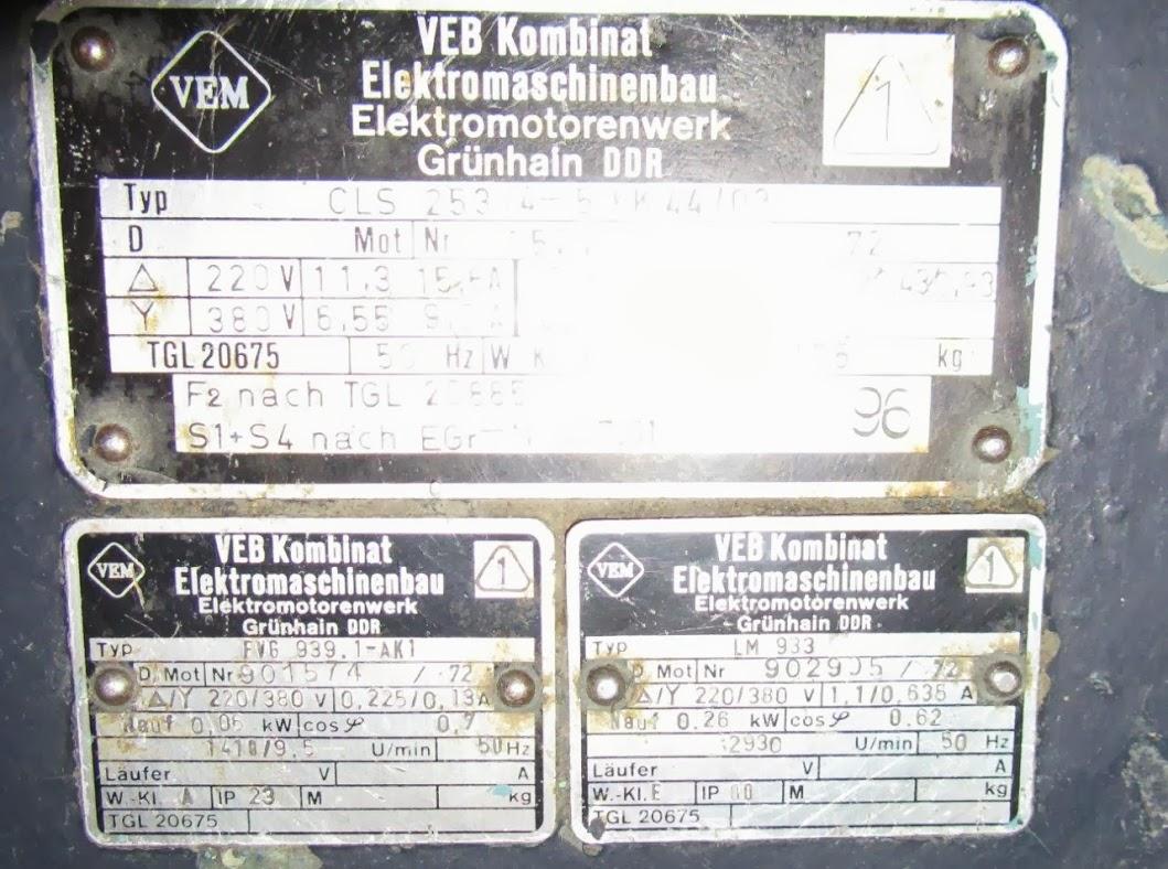 Schemat polaczenia silnika elektrycznego zmienne obroty z lat 80 tych