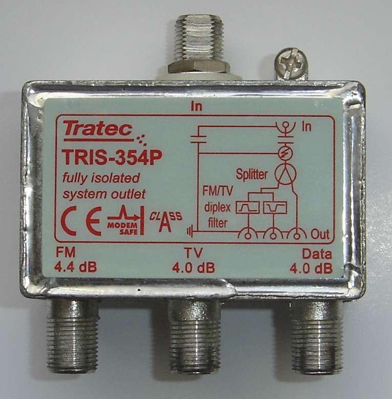 [Sprzedam] Rozdzielacz multimedialny z izolacj� galwaniczn� TRIS-354P.