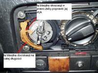 Passat 35L - kierownica do góry nogami po naprawie serwisowej Rano do reklamacji