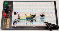 DDS z wykorzystaniem ATMega88 i drabinki R-2R