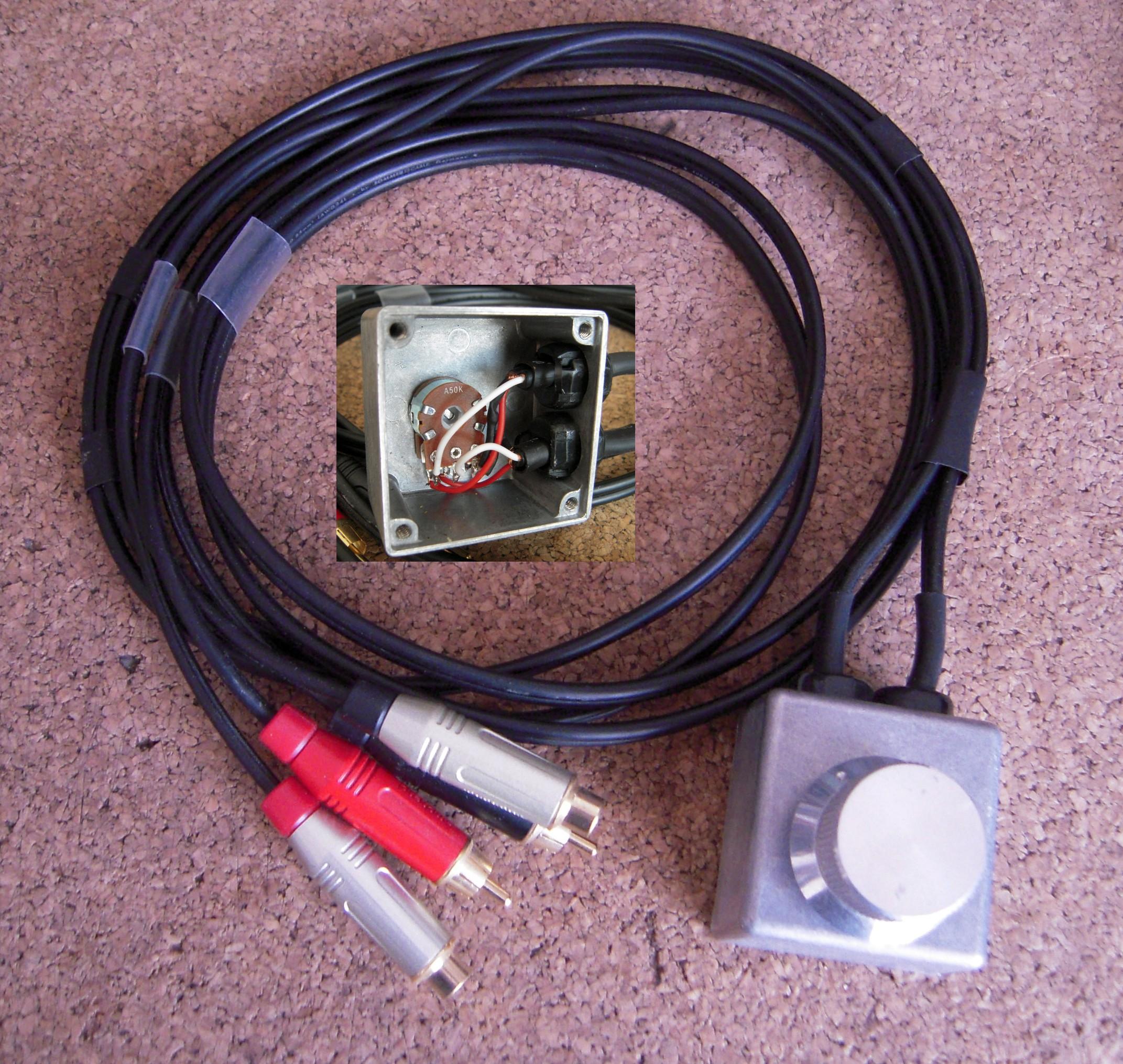 DDM4000 + B2031A + volume control