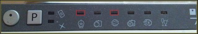 Zmywarka Ariston LST 116 - migają diody 1 i 3, pobiera wodę, wypuszcza i wyłącza