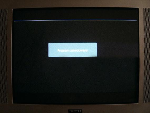 WIWA HD 90 - kolorowy pasek u g�ry ekranu