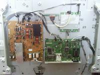 Migająca 'siatka' na Philips 42PFL7682D/12 chassis lc7.2e la