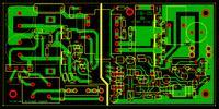 Zasilacz 24V 6A z elementów zasilacza AT, dławik wyjściowy, piszczenie