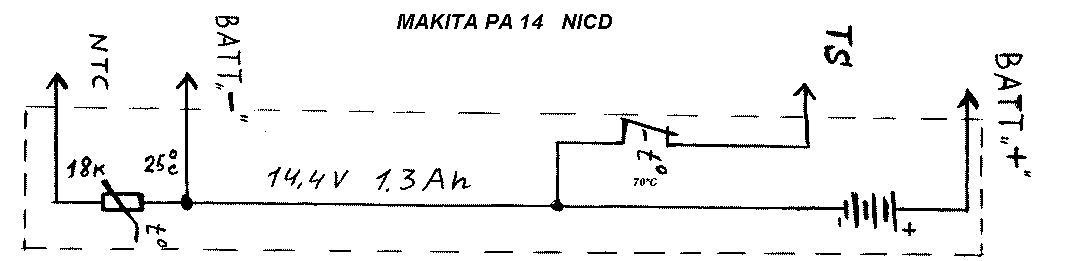 PA12 - Kontrola napięcia w akumulatorach Makita
