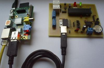 Modu� TTMSB sterowany przez port USB