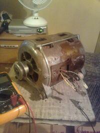 Pod��czenie silnika od pralki automatycznej
