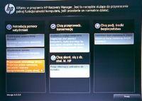 HP 655 Notebook PC - nie dzia�a F11 przywracanie z partycji Recovery.