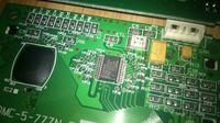 Wyświetlacz LCD z drukarki LEXMARK OPTRA S