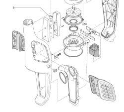 Odkurzacz Philips FC6400 - Wymiana filtra wylotowego oraz ułożenie wiązki