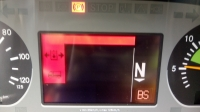 Mercedes Actros - Błąd na wyświetlaczu tłoczek z kropelką?