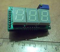 Miniaturowy miernik na ICL7107