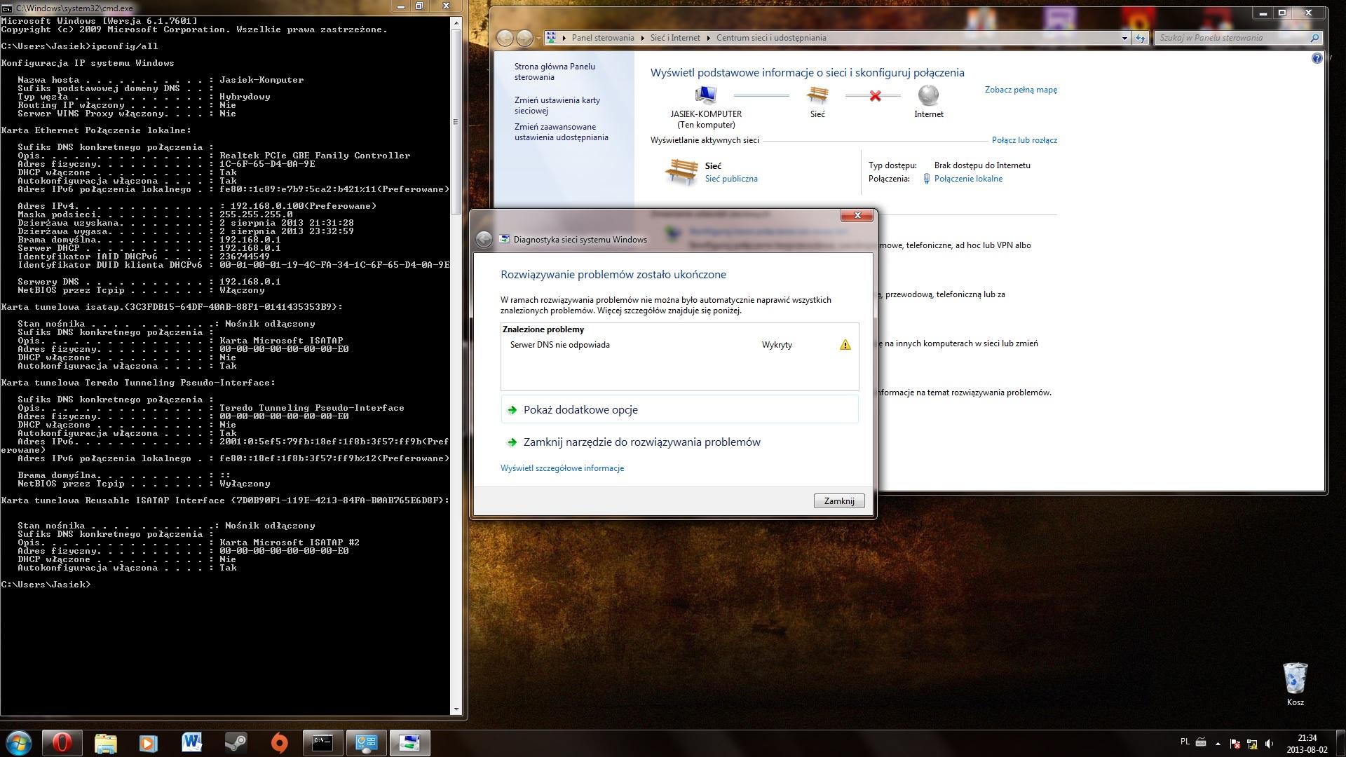 Serwer DNS nie odpowiada - TP-LINK WR941ND
