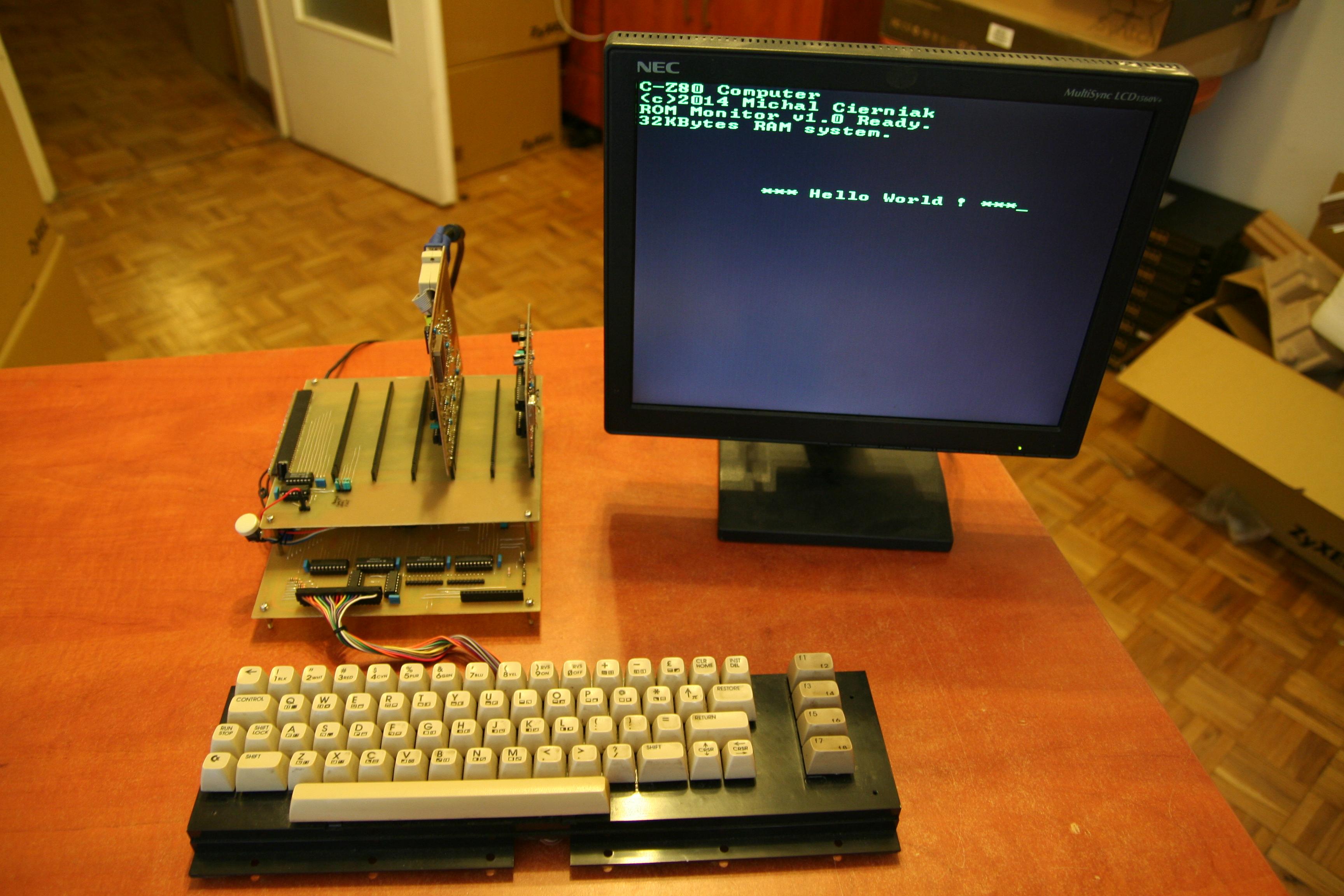 Komputer 8-bitowy w�asnej roboty