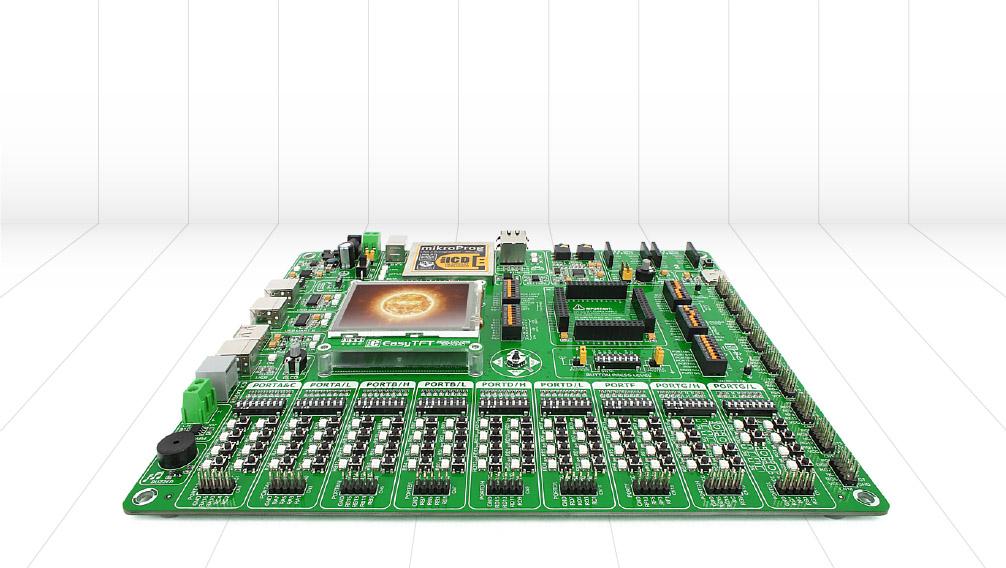 MuliBlue EvB - czyli uniwersalny zestaw uruchomieniowy dla AVR, PIC oraz MSP