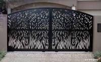 Obróbka metali cnc - własny projekt ogrodzenia
