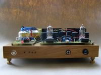 Hybryda - Wzmacniacz Słuchawkowy + bufor ECC88 DIY
