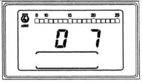 New Holland 8560 - New Holland 8560 po przekręceniu stacyjki wyświetla się 0 i 7