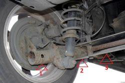 Toyota Corolla E12 lewarowanie - miejsce na podpórki