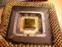 Przyklejony radiator do starego procka 160Mhz