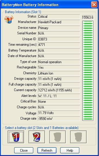HP NX6110-zasilacz niszczy baterie ???
