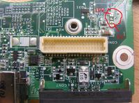 Packard Bell MH35 / HERA C - Brak podświetlenia matrycy