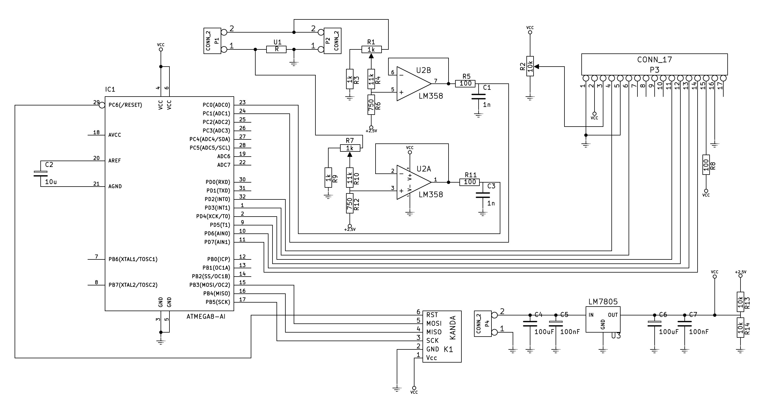 Sprawdzenie schematu multimetru panelowego i modyfikacje