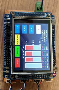 Urządzenie do pomiaru sprawności przetwornic DC/DC oraz pomiaru warunków