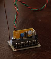 Moduł dekodera sygnału z bezprzewodowego czujnika temperatury