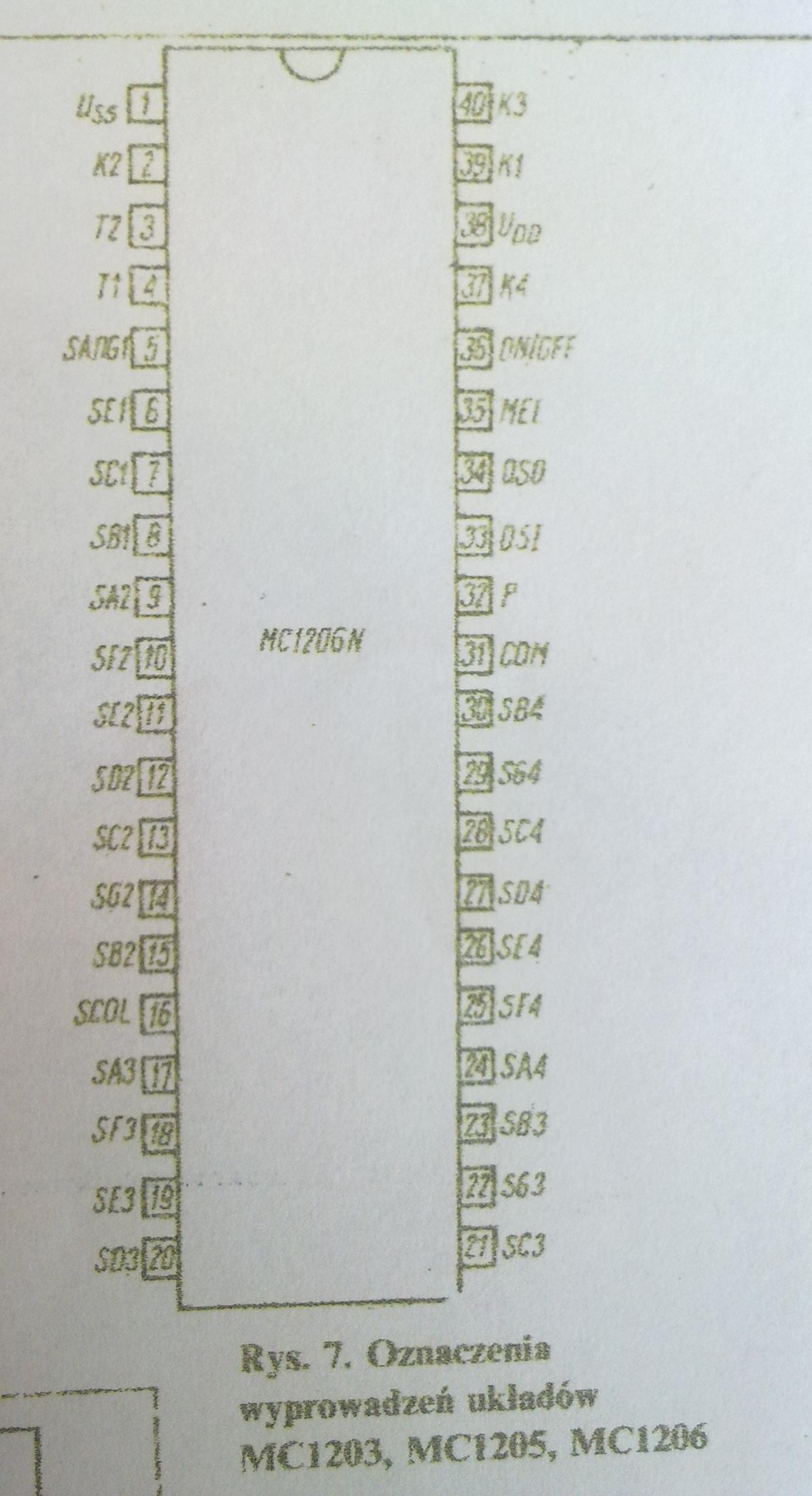 Bascom Modyfikacjia zegara MC1206