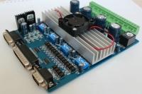 Brak sygnału LPT pcie x1, oprogramowanie MACH3, sterownik TB6560 4-osiowy.