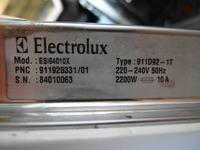 ZMYWARKA ELECTROLUX ESI64010X - Zalana , p�kni�ta uszczelka przy pompie ( ? )