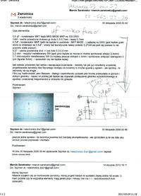 Schemat zwrotnicy do Alcone Acoustics