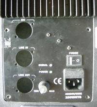 Przeróbka przedwzmacniacza kolumny aktywnej RH Sound